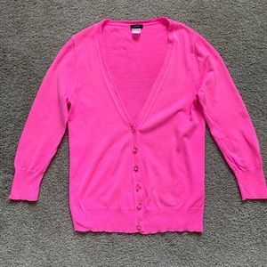J Crew Cardigan with crystal buttons